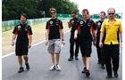 Romain Grosjean - Lotus - Formel 1 - GP Ungarn - 25. Juli 2012