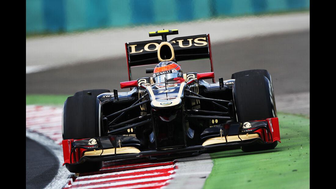 Romain Grosjean - Lotus - Formel 1 - GP Ungarn - Budapest - 27. Juli 2012