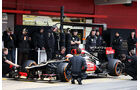Romain Grosjean, Lotus, Formel 1-Test, Barcelona, 22. Februar 2013