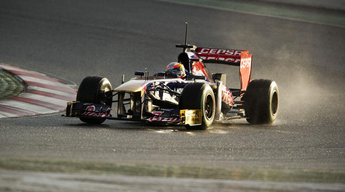 Romain Grosjean, Lotus, Formel 1-Test, Barcelona, 28. Februar 2013