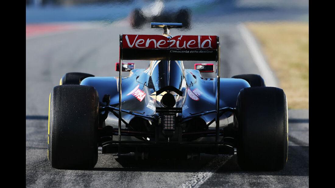 Romain Grosjean - Lotus - Formel 1-Test - Barcelona - 28. Februar 2015