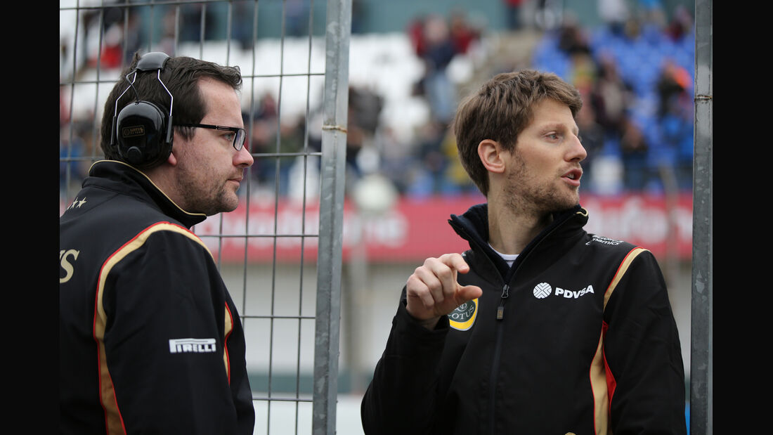 Romain Grosjean - Lotus - Formel 1-Test - Jerez - 2. Februar 2015