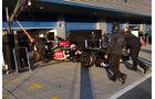 Romain Grosjean - Lotus - Formel 1 - Test - Jerez - 6. Februar 2013