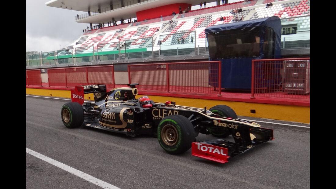 Romain Grosjean - Lotus - Formel 1-Test - Mugello - 2. Mai 2012