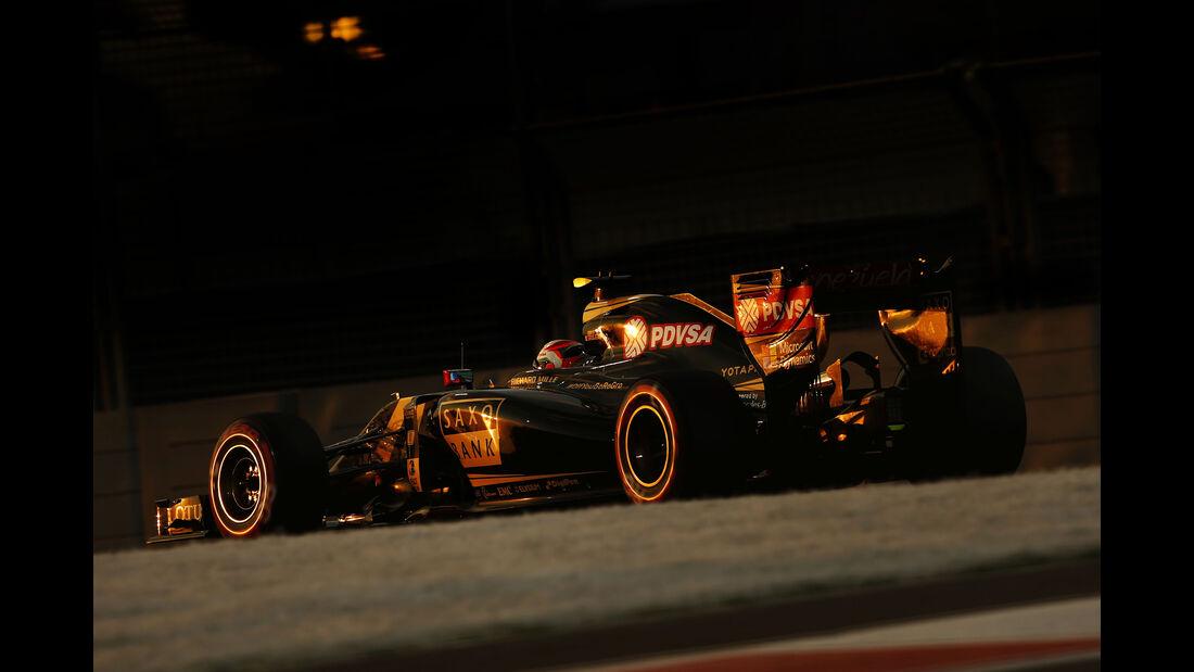 Romain Grosjean - Lotus - GP Abu Dhabi - 28. November 2015