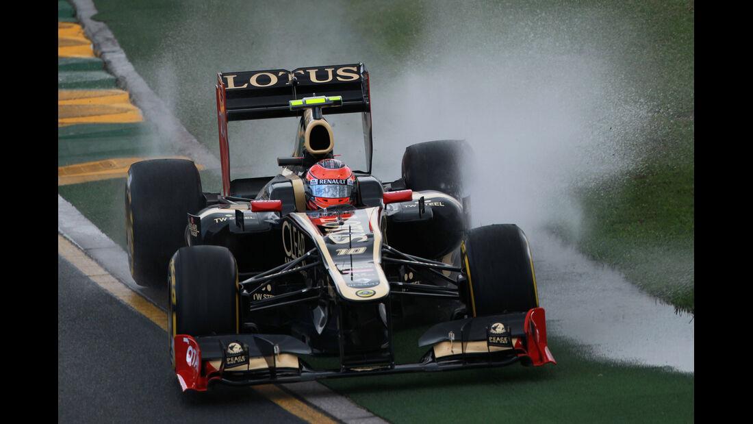 Romain Grosjean - Lotus - GP Australien - Melbourne - 16. März 2012