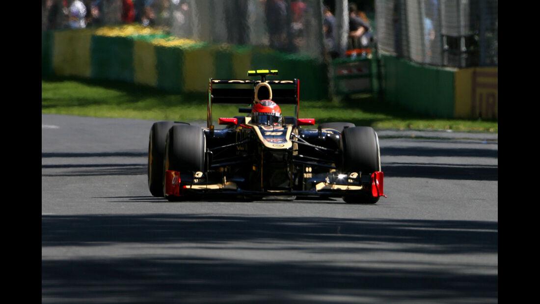 Romain Grosjean - Lotus - GP Australien - Melbourne - 17. März 2012