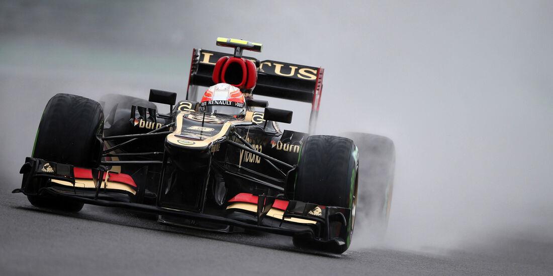 Romain Grosjean - Lotus - GP Brasilien - 23. November 2013
