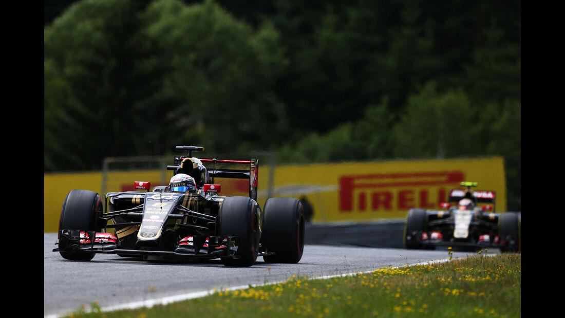 Romain Grosjean - Lotus - GP Österreich - Formel 1 - Sonntag - 21.6.2015