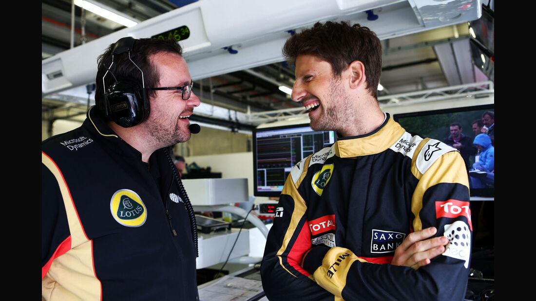 Romain Grosjean - Lotus - GP Österreich - Qualifiying - Formel 1 - Samstag - 20.6.2015