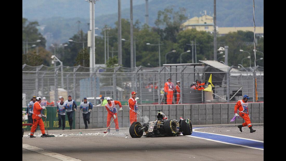 Romain Grosjean - Lotus - GP Russland 2015 - Sochi - Rennen