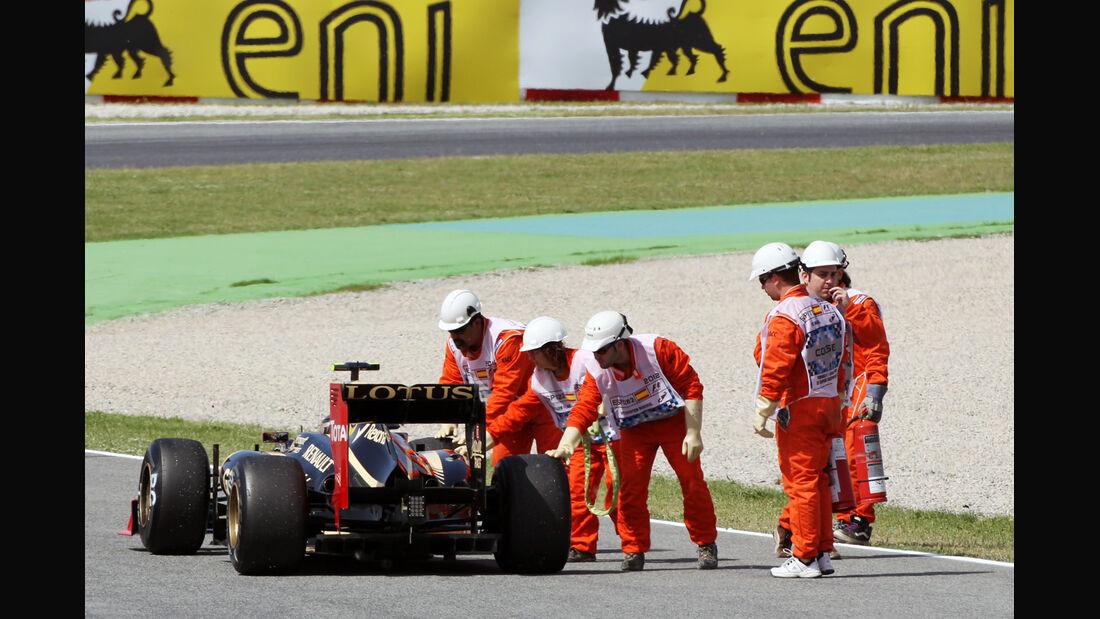 Romain Grosjean - Lotus - GP Spanien - 12. Mai 2012