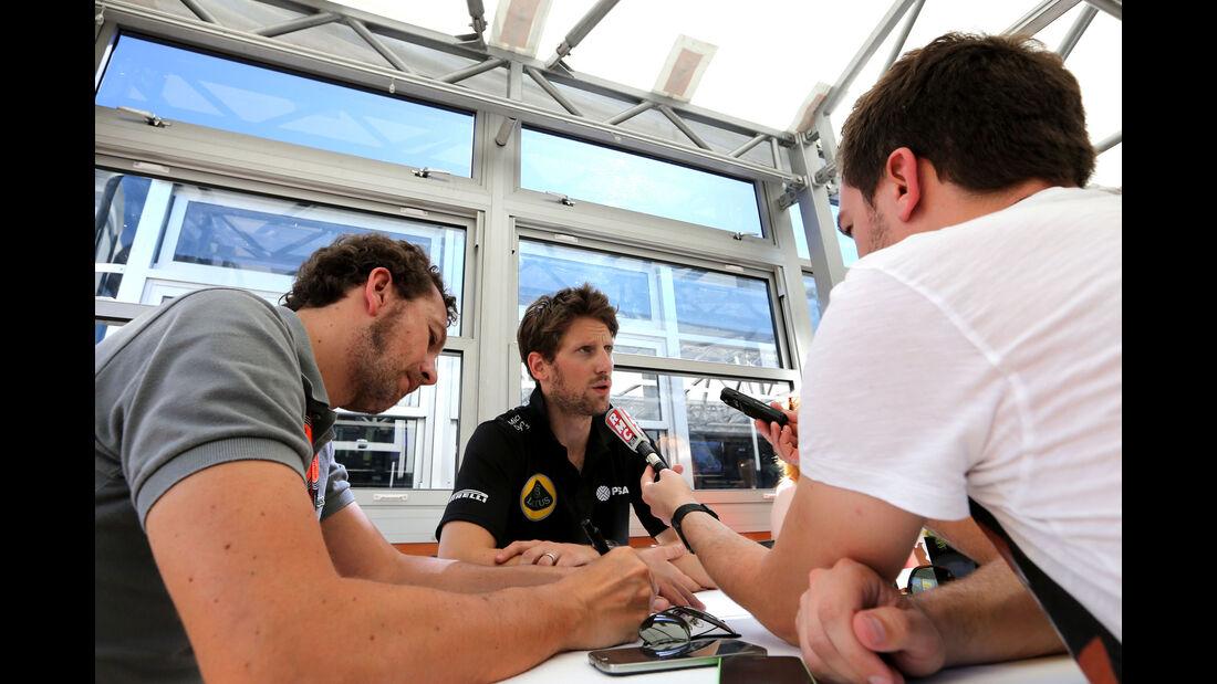 Romain Grosjean - Lotus - GP Spanien - Qualifying - Samstag - 9.5.2015