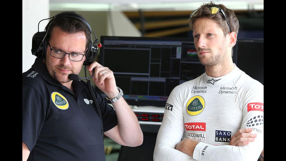 Romain Grosjean - Lotus - GP Ungarn - Budapest - Qualifying - Samstag - 25.7.2015
