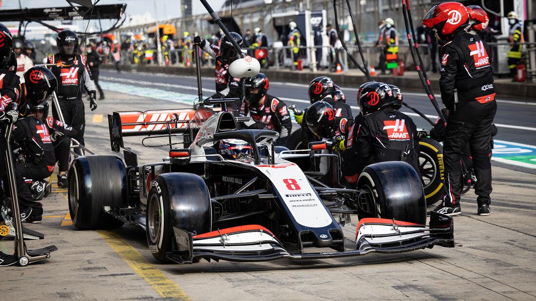 Romain Grosjean - Nürburgring - Eifel Grand Prix - 2020