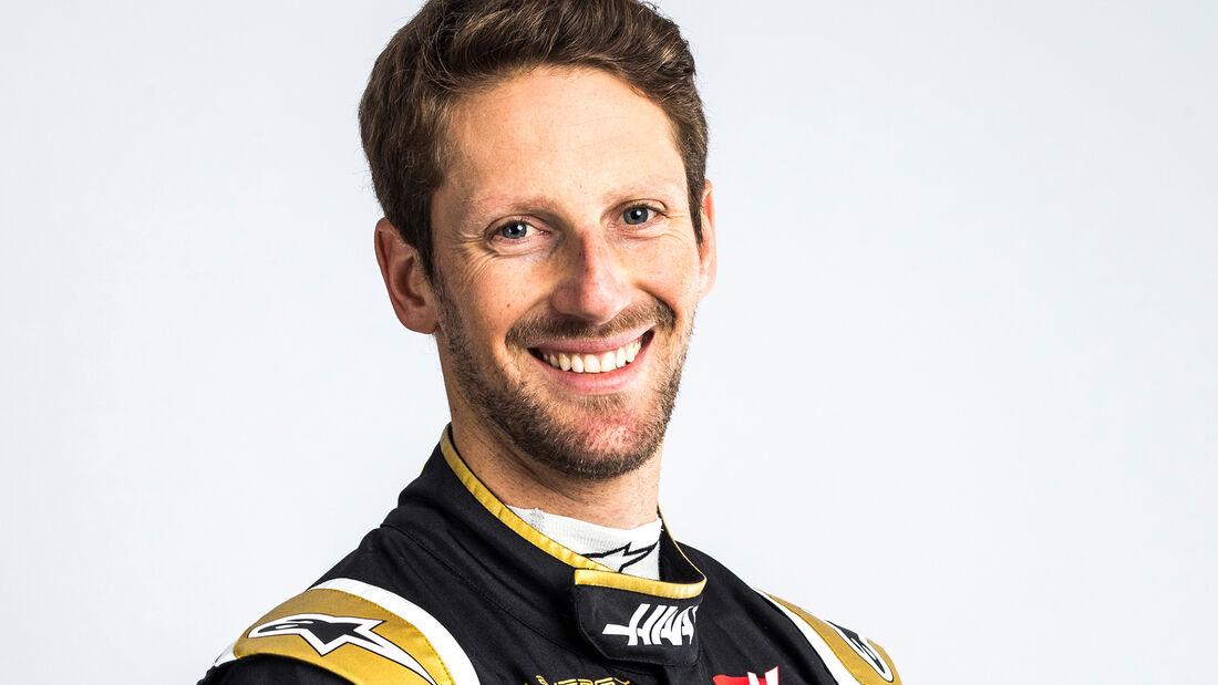 Romain Grosjean - Porträt - 2019