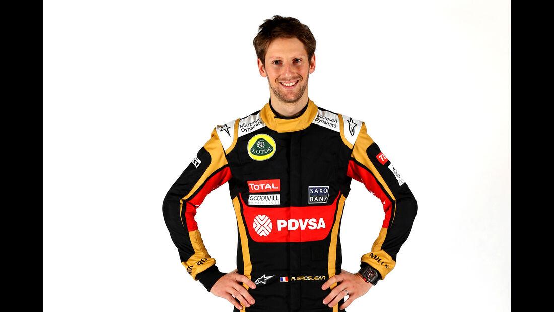 Romain Grosjean - Porträt - Formel 1 - 2015