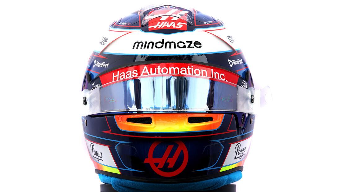 Romain Grosjean - Porträt & Helm - Formel 1 - 2020