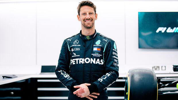Romain Grosjean - Sitzprobe - Mercedes - Formel 1 - 2021