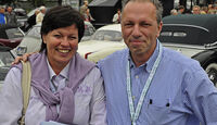 Roman Rekos und Christine Friedel mit Fiat 500 C Topolino