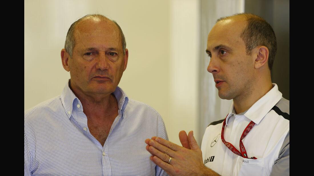 Ron Dennis - McLaren - Formel 1 - GP Abu Dhabi - 21. November 2014
