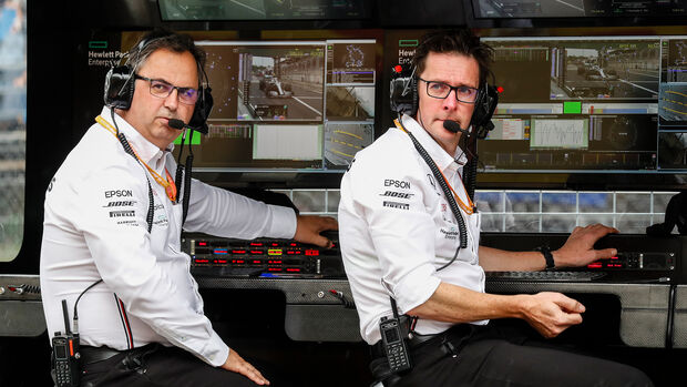 Ron Meadows & Andrew Shovlin - Mercedes - 2019