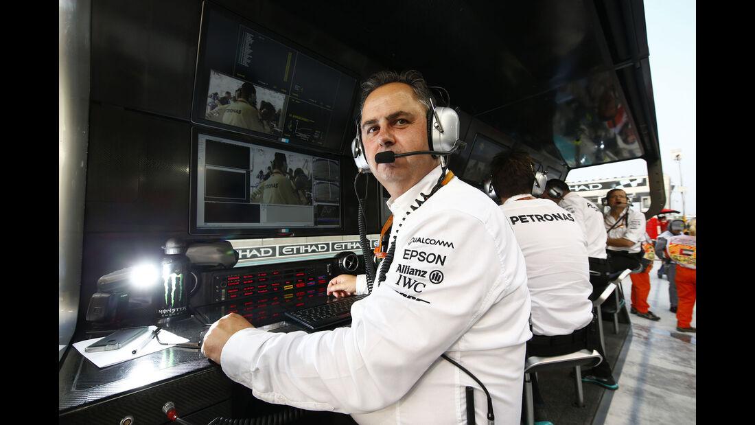 Ron Meadows - Mercedes - GP Abu Dhabi 2016 - Formel 1