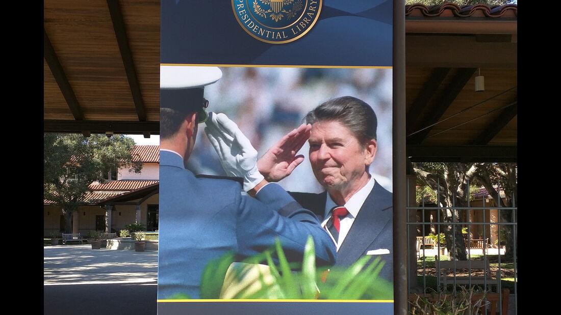 Ronald Reagan, Ronald Reagan Presidential Library