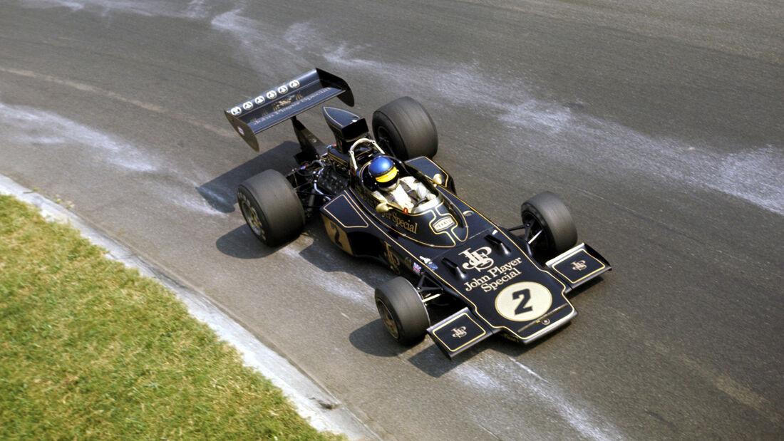 Ronnie Peterson - Lotus 72 - Monza 1973