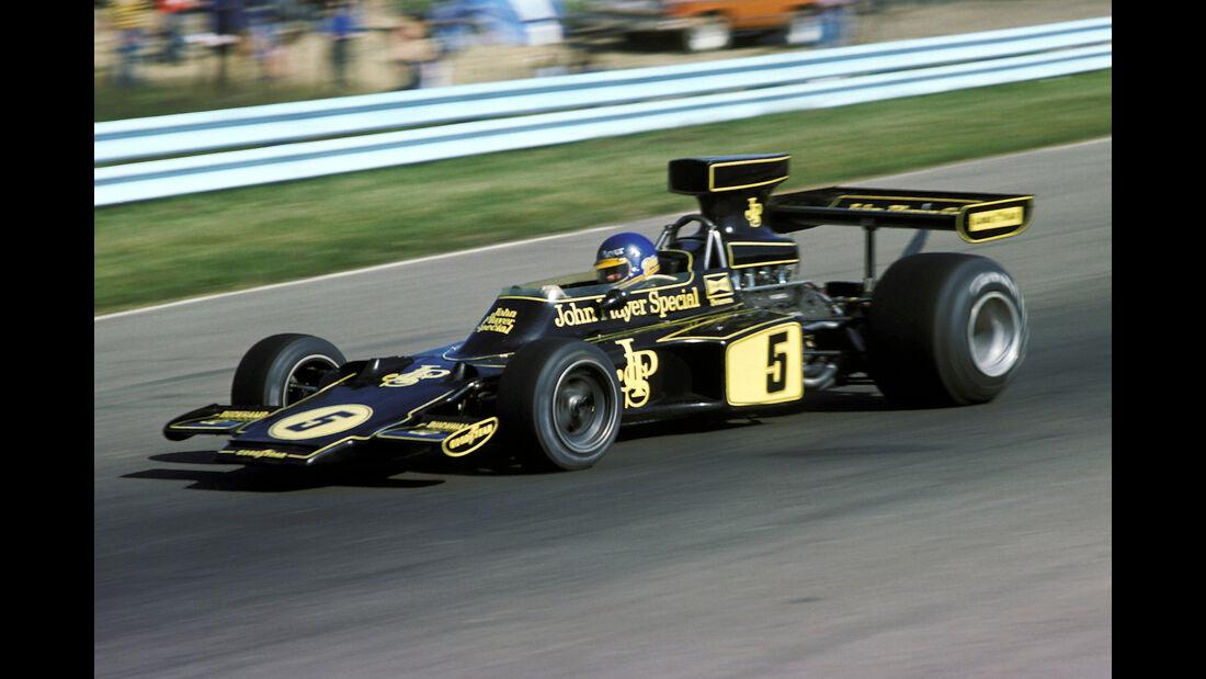 Ronnie Peterson - Lotus 72E - GP USA 1975