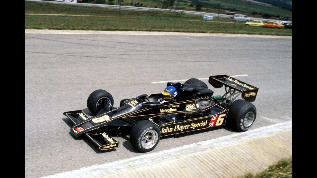 Ronnie Peterson - Lotus 78 - GP Südafrika 1978 - Kyalami