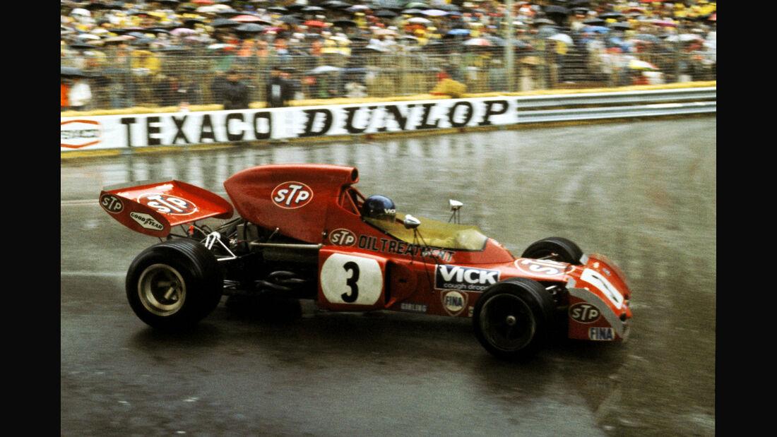 Ronnie Peterson - March 721X - GP Monaco 1972