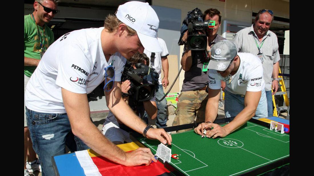 Rosber und Schumacher