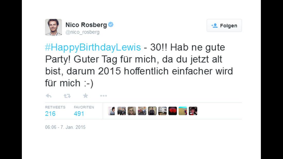 Rosberg - 2014