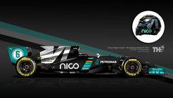 Rosberg-Auto - Helm-Design - 2016