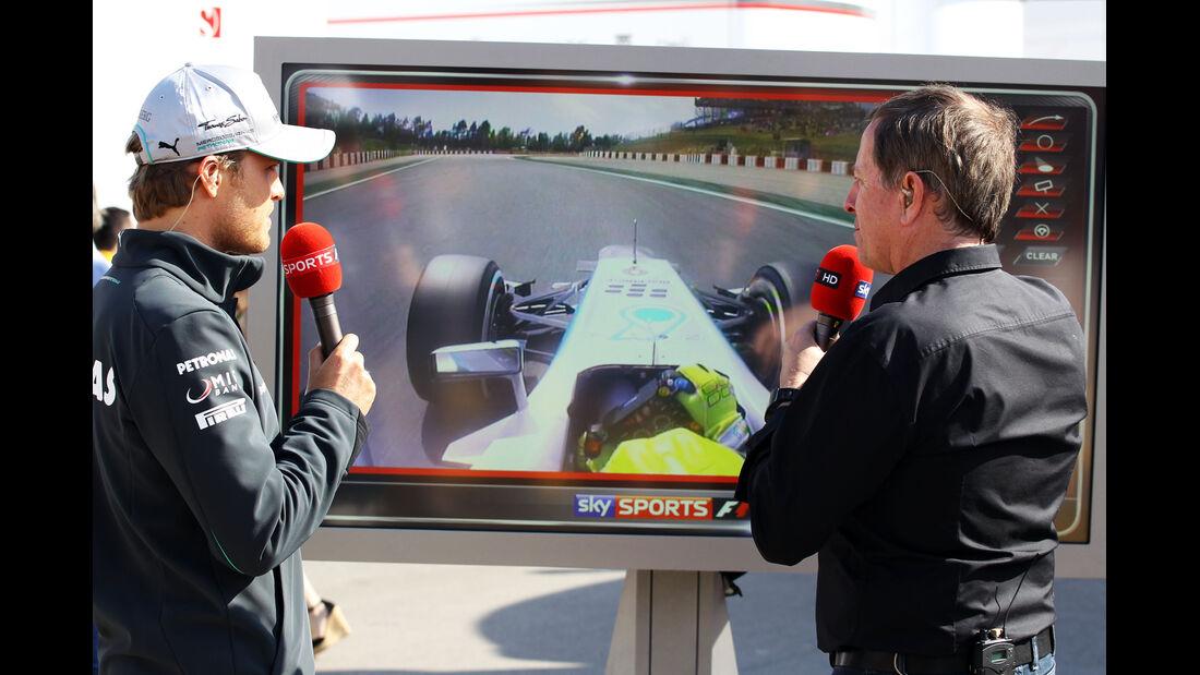 Rosberg & Brundle - Formel 1 - GP Spanien - 11. Mai 2013