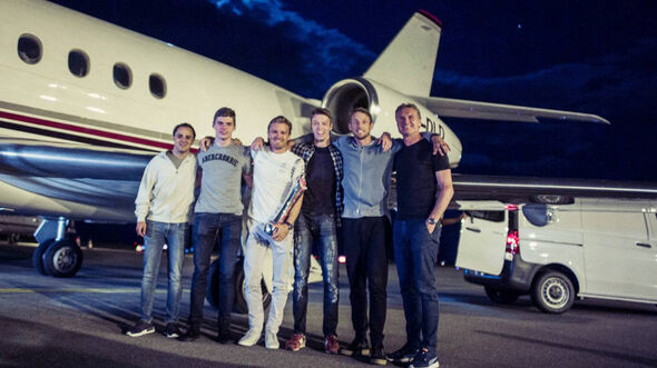 Rosberg - Flieger - GP Aserbaidschan 2016