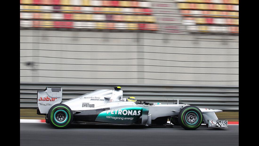 Rosberg - Formel 1 - GP China - 13. April 2012