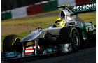 Rosberg  - Formel 1 - GP Japan - 07. Oktober 2011