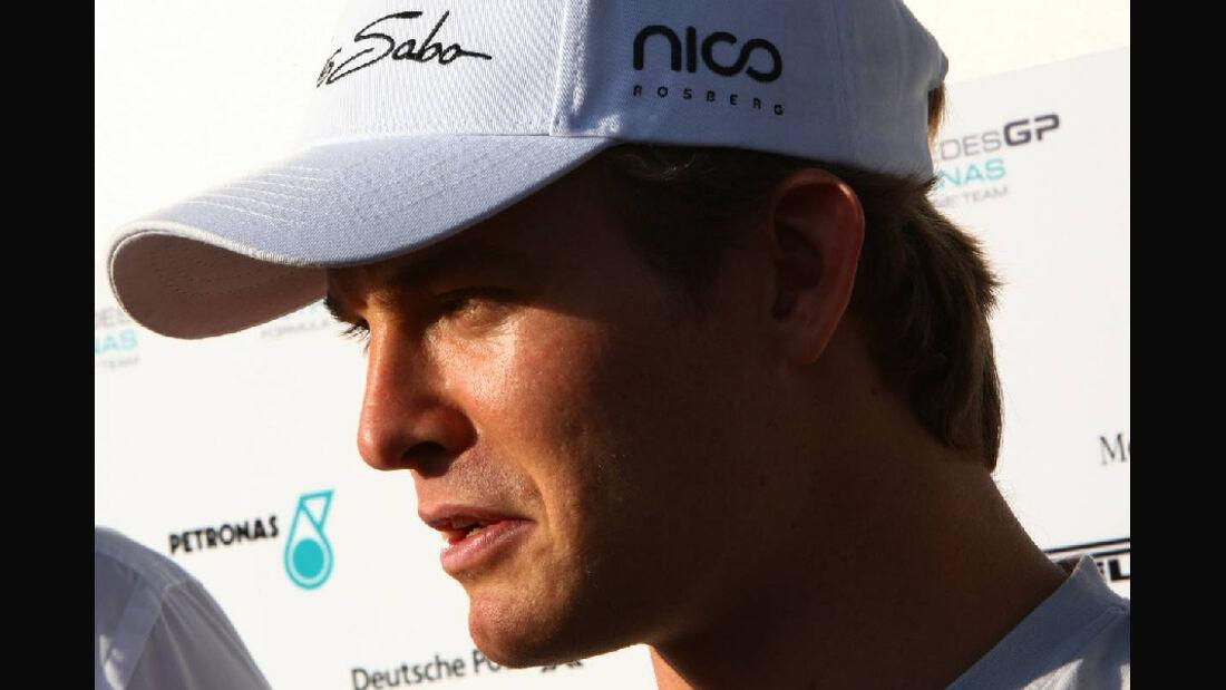 Rosberg  - Formel 1 - GP Korea - 13. Oktober 2011