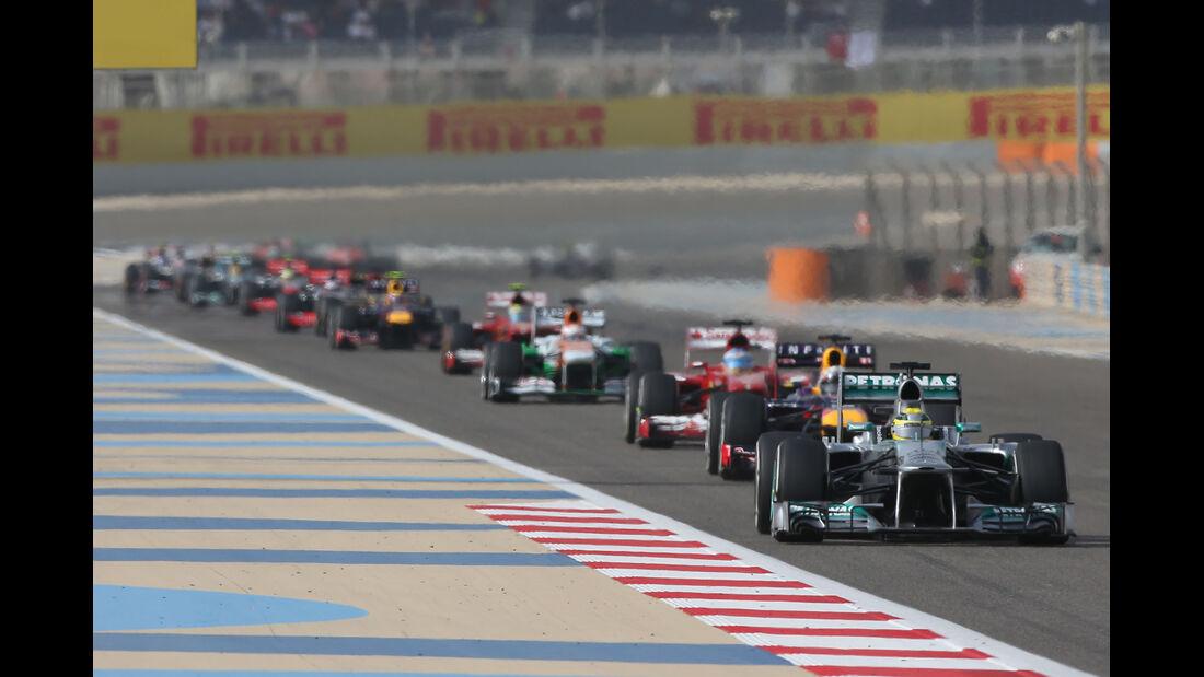 Rosberg - GP Bahrain 2013