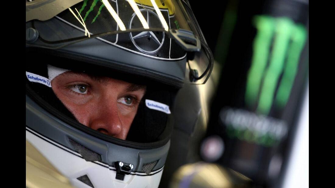 Rosberg GP Türkei 2011