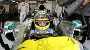 Rosberg - GP Ungarn 2013
