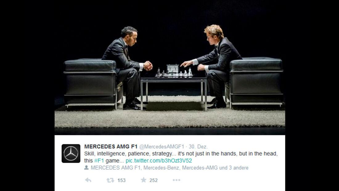 Rosberg & Hamilton - 2014
