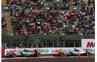 Rosberg & Hamilton - Formel 1 - GP Mexiko - 31. Oktober 2015