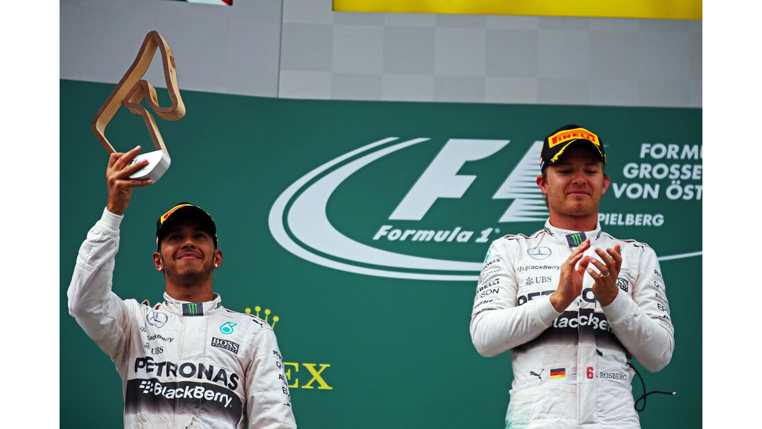 Rosberg & Hamilton - Formel 1 - GP Österreich 2015
