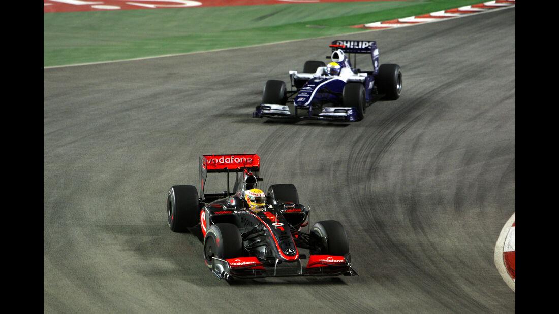 Rosberg & Hamilton - Formel 1 - GP Singapur 2009