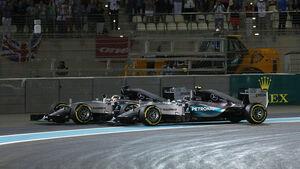 Rosberg & Hamilton - GP Abu Dhabi 2015