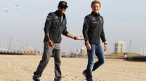 Rosberg & Hamilton - GP Australien 2014