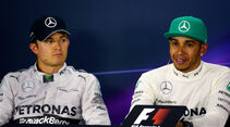 Rosberg & Hamilton - GP China 2014